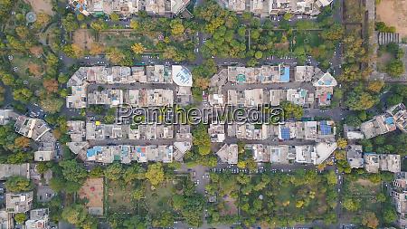 top aerial view of rajendra nagar