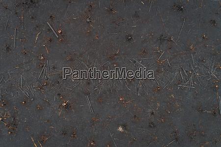 aerial view of burn field in