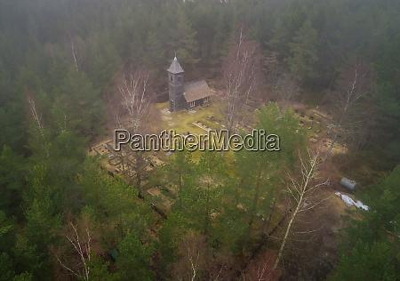 aerial view of prophet elijah orthodox