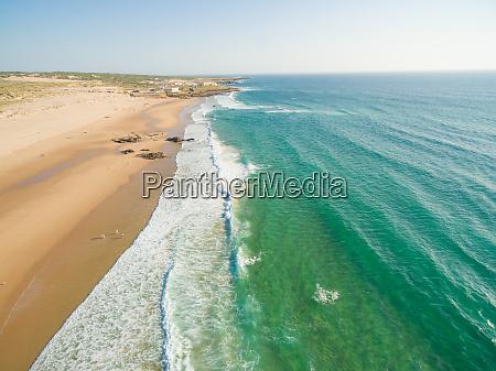 praia da guincho beach portugal popular