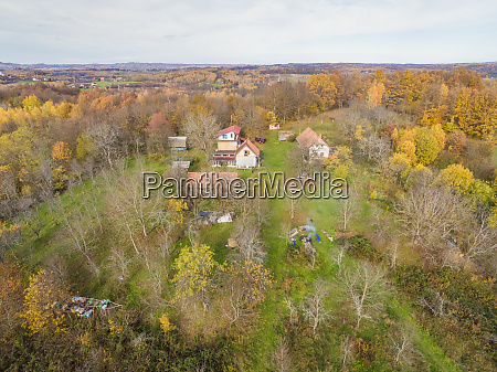 aerial panoramic view of blatusa eco