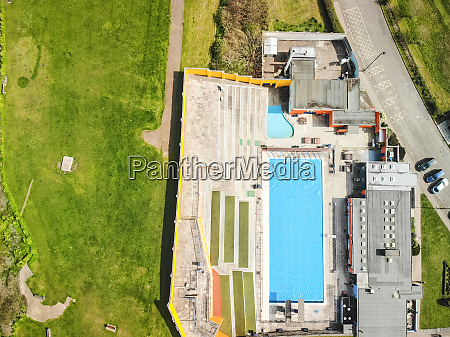 an aerial view of portishead open