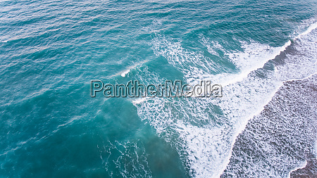 aerial view of sea in brazil