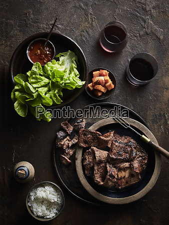 bbq galbi korean bbq beef short