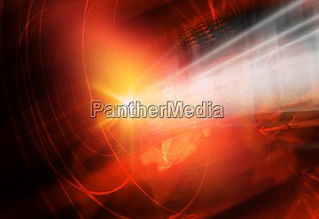 graphical modern studio news background