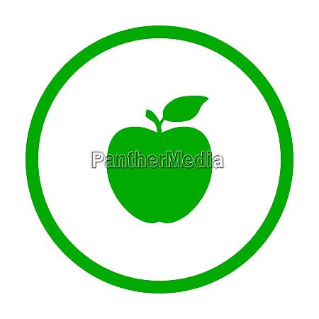 apple and circle