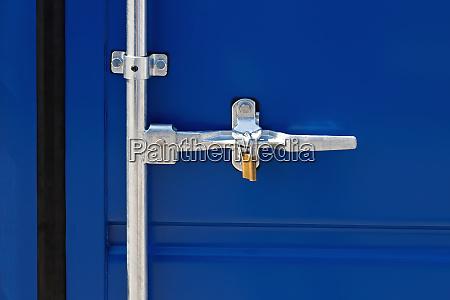 cargo container latch