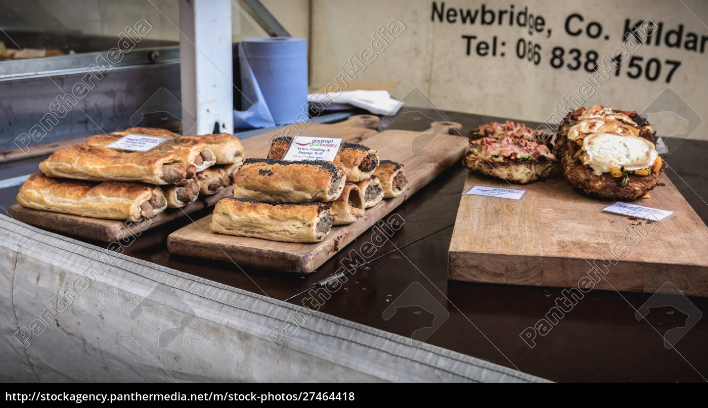 stand, of, irish, bread, , pastry, and - 27464418