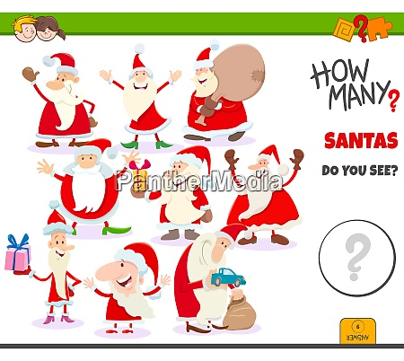 how many santa claus characters game
