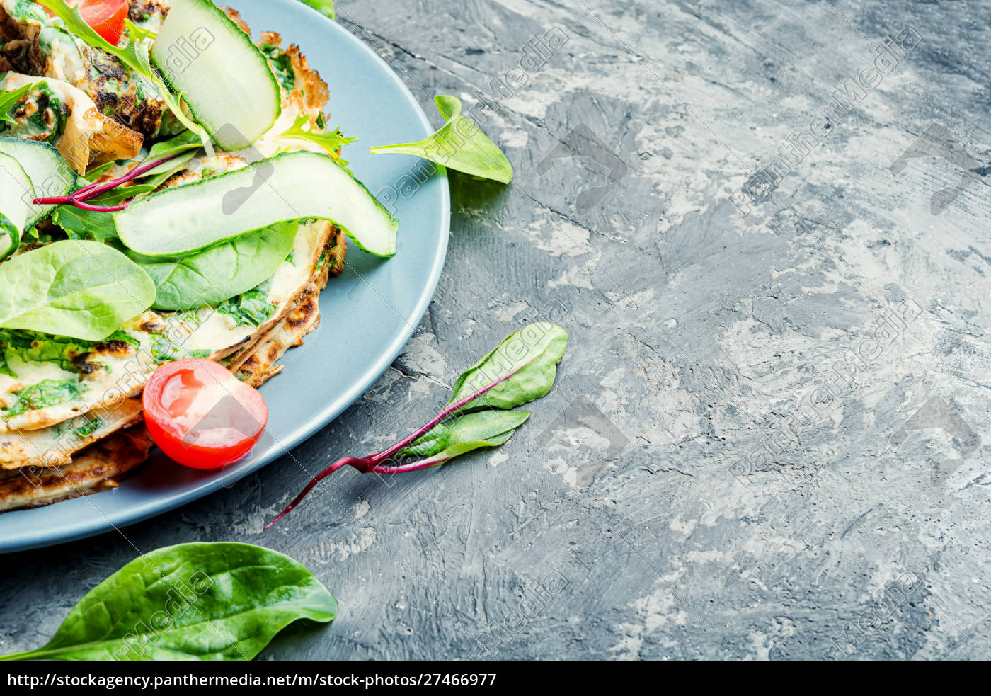 homemade, pancakes, with, herbs - 27466977