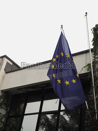flag of the european union eu