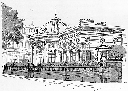 facade of the palace of the