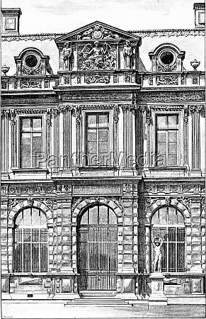 facade of the henry iv gallery