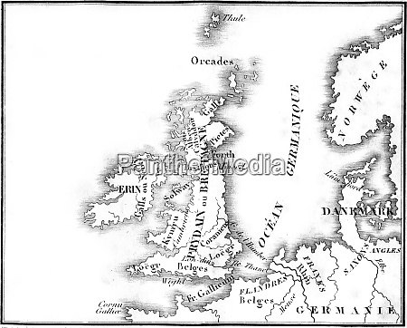 map of britain before the roman