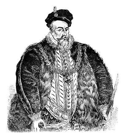 portrait of leicester from the original