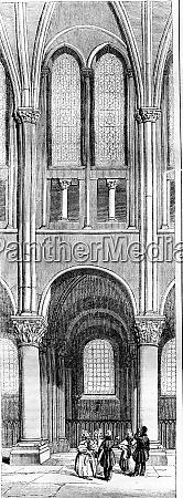twelfth century span of the apse
