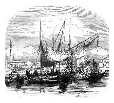 caravels and other vessels structures vintage