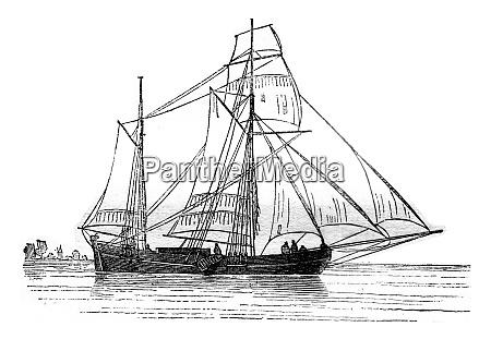 galiote dutch landed moorings on starboard