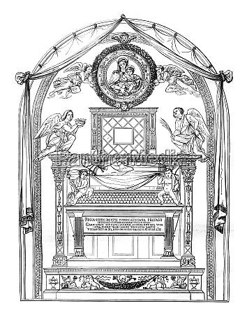 tomb of cardinal jacques de portugal