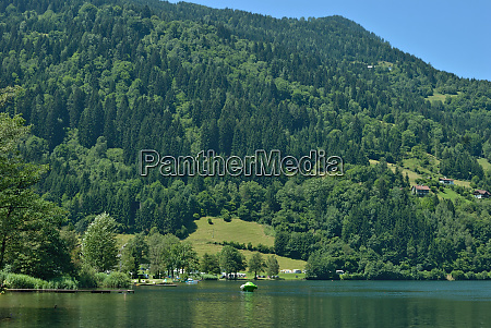 lake afritzer see in carinthia