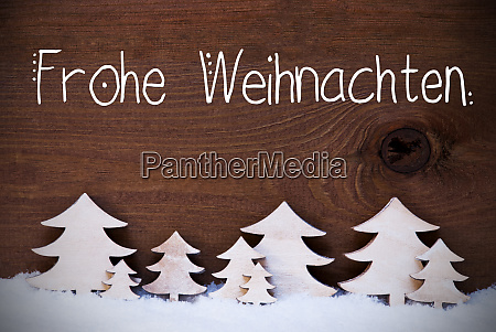 white christmas trees snow frohe weihnachten