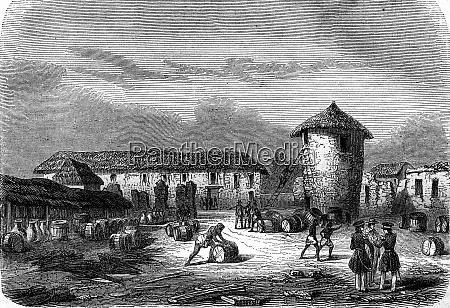 ruins of fort oueida slave side
