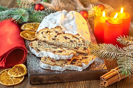 stollen traditional german christmas bread