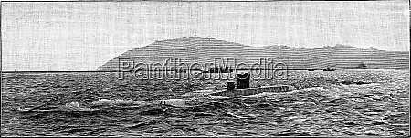 the gustavus zede in toulon harbor