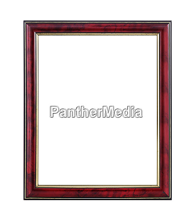 mahogany and gold wooden picture frame
