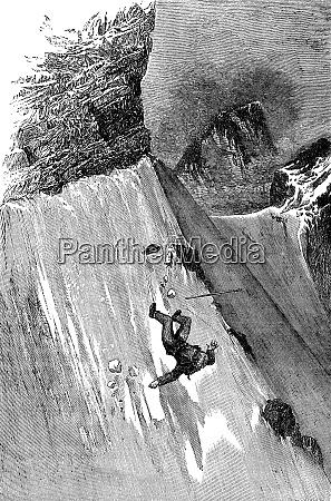 fall of mr whymper to col