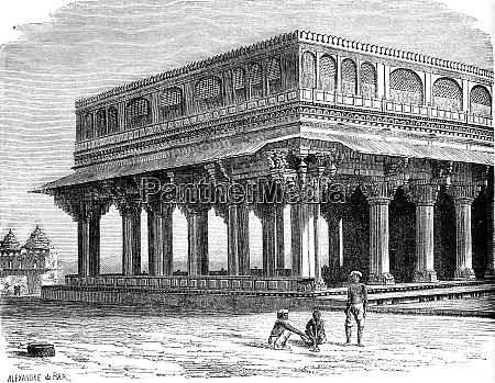 the diwan khana assembly hall the