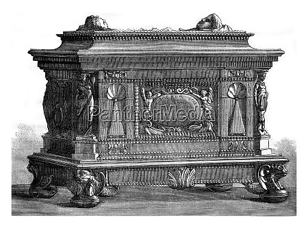 box of the guild of carpenters