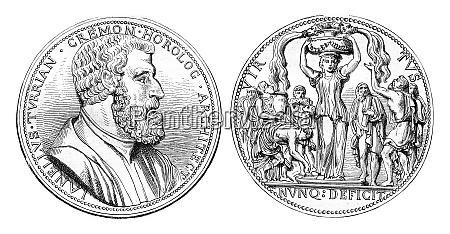 juanelo turriano medal struck in 1559