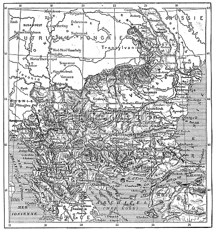 map of turkey bulgaria serbia romania