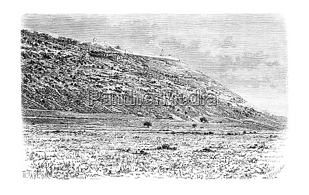 mount carmel as viewed from the