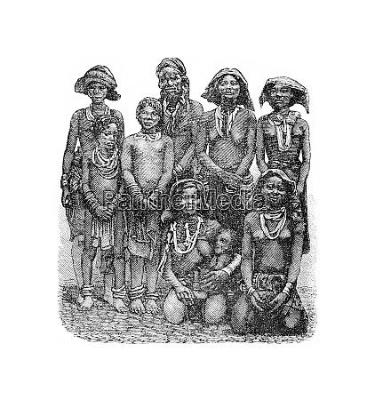 mandombe women of congo central africa