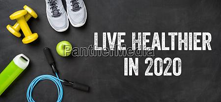 live healthier in 2020