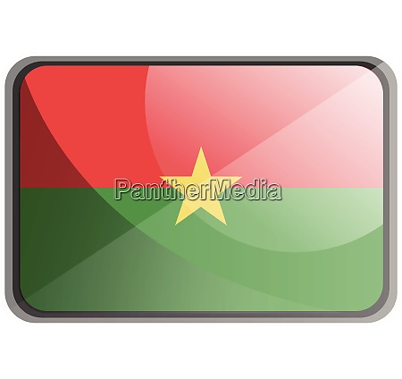 vector illustration of burkina faso flag