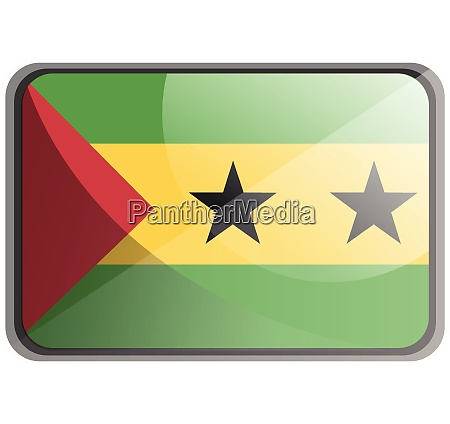 vector illustration of sao tome and