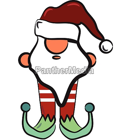 christmas decorative harlequin vector or color