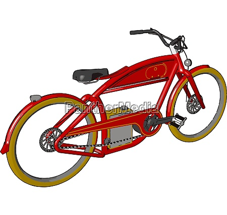 bike its components vector or color