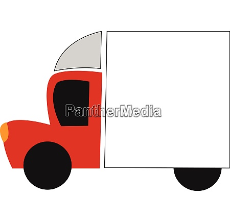 big red car vector or color