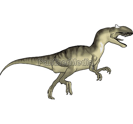carnivorous creature with sharp teeth vector