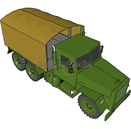 a military truck military vector or