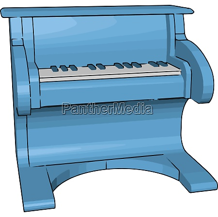 the toy pianos picture vector or