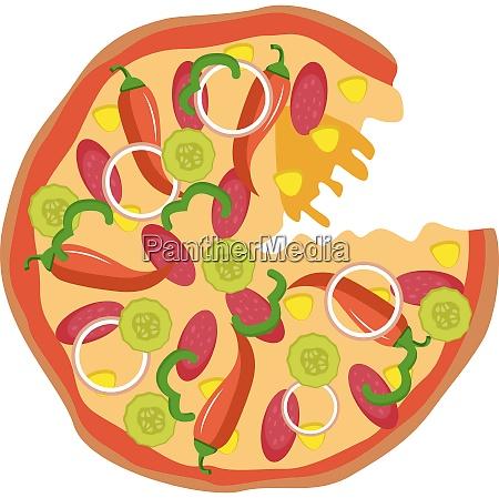 spicy pizzaprint