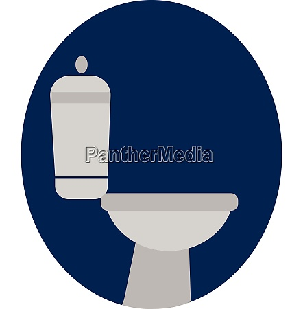 toilet vector or color illustration
