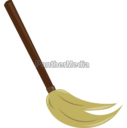 a mopping brush to clean the