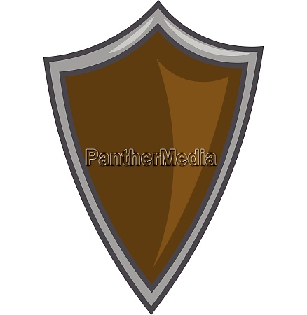 shield for protection or safeguarding vector