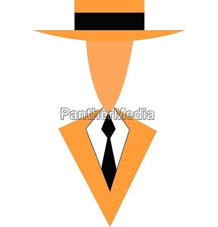 a gentleman in formal suite vector